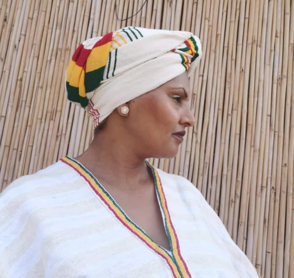 חוה אלמוג מהחוויה האתיופית. צילום איריס לוי