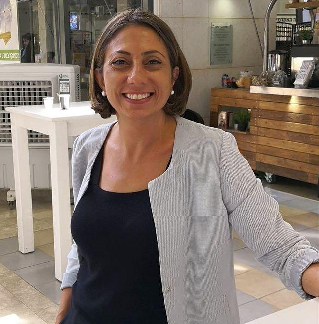אילנית צמח בכנס היין הישראלי 2018. צילום ישראל פרקר