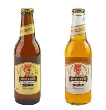 בירה ווילדר מספרד - ווילדר לאגר בניחוח עץ לימון וגם ווילדר חיטה בטעם פירותי