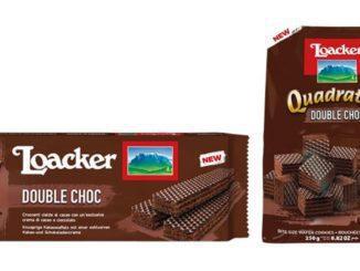 בסדרה החדשה שני מוצרים: לואקר קואדרטיני דאבל שוקולד ולואקר קלאסיק דאבל שוקולד