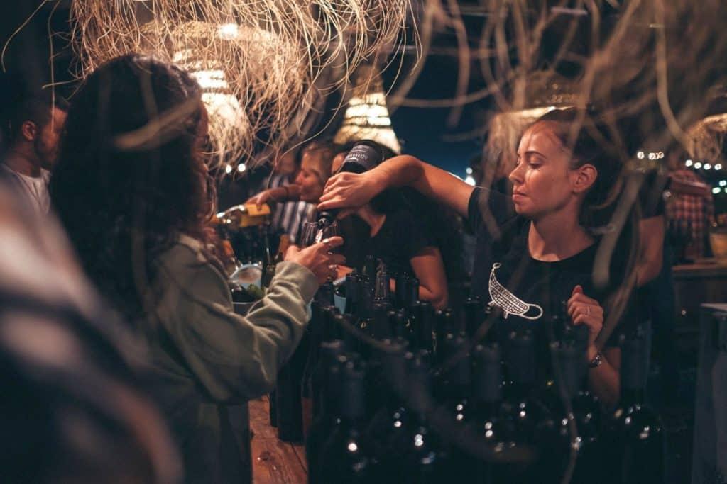 מסיבת בציר 2019 ביקב רמת הגולן. צילום מדף הפייסבוק