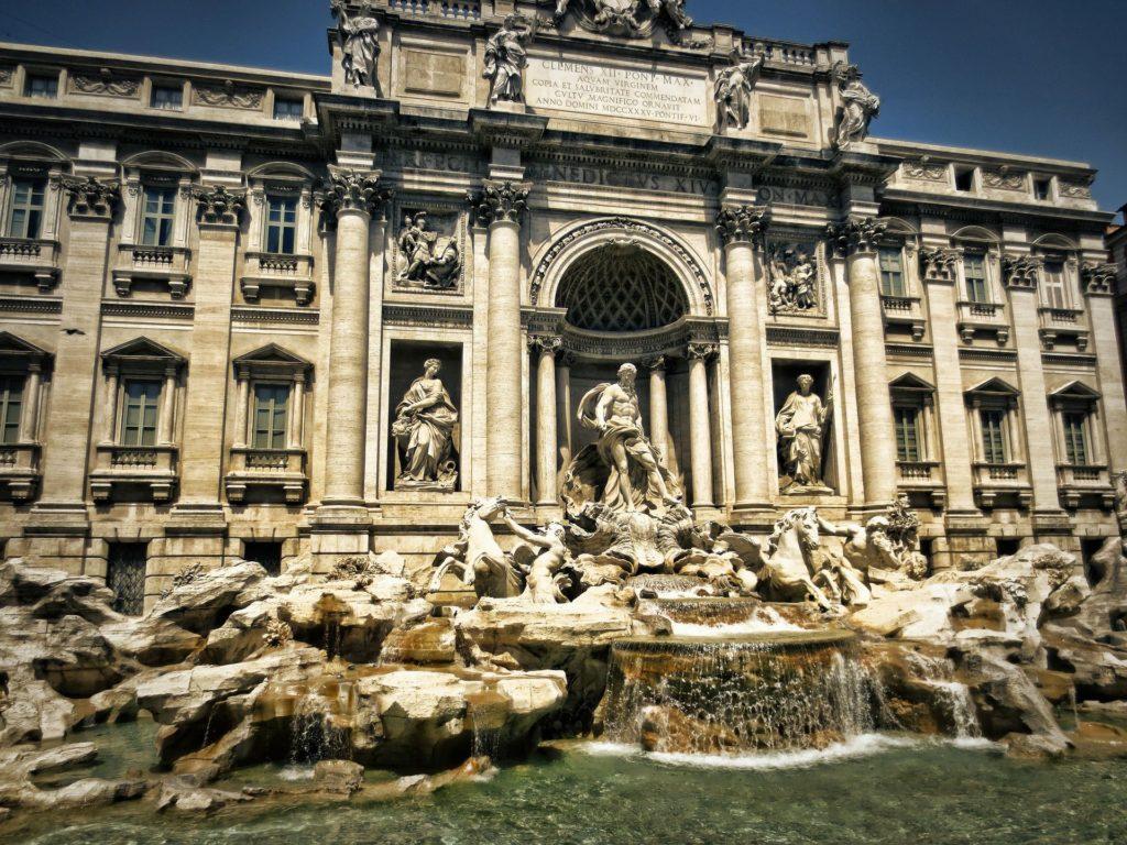 מזרקת טרווי ברומא. צילום pixabay