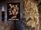 כשהשף אביב משה ממסעדת מסה ראה את ציורו של מרסל דושאן הוא הזכיר לו את אחת ממנות הדגל שלו במסעדה – כבד אווז בשוקולד לבן שמקבלת חידוש בהגשה עם דגש גאומטרי כמחווה לצייר. צילום אנטולי מיכאלו