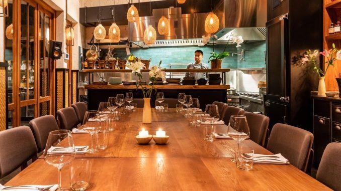 המקום מתאים לאירועים של עד 16 אורחים בישיבה סביב שולחן או עד 40 אורחים באירוע קוקטייל. צילום יהונתן בן חיים