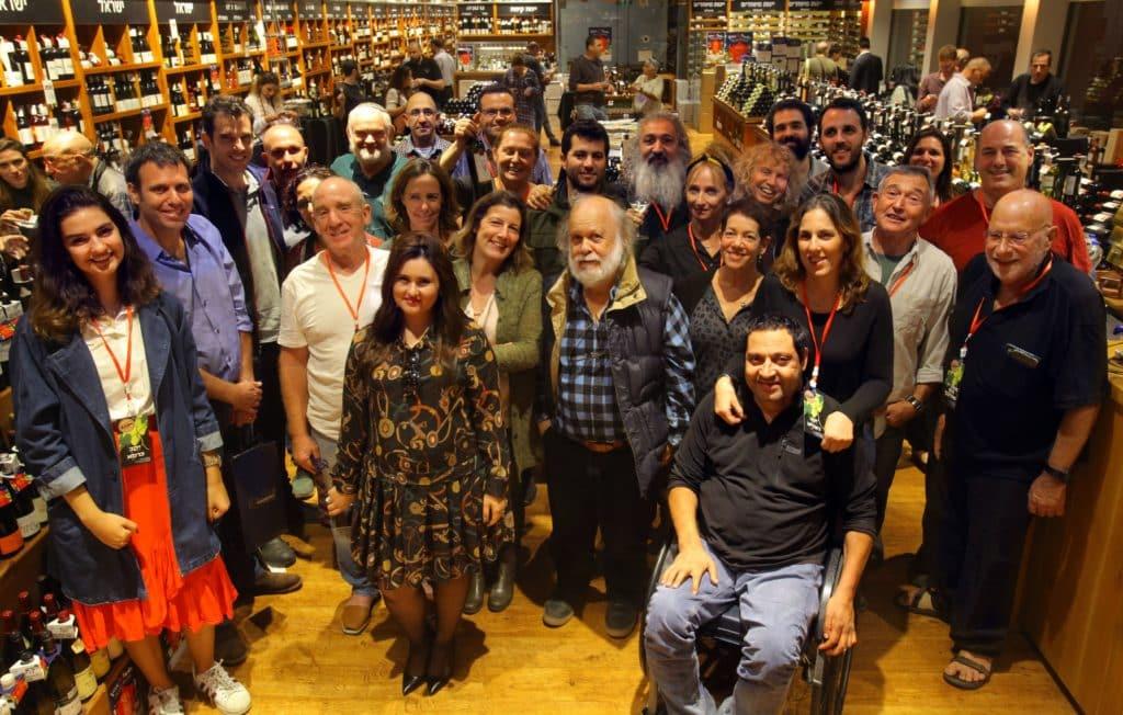הייננים ונציגי יקבים באירוע המקדים לפסטיבל יקבי יהודה 2018. צילום דוד סילברמן dpsimages