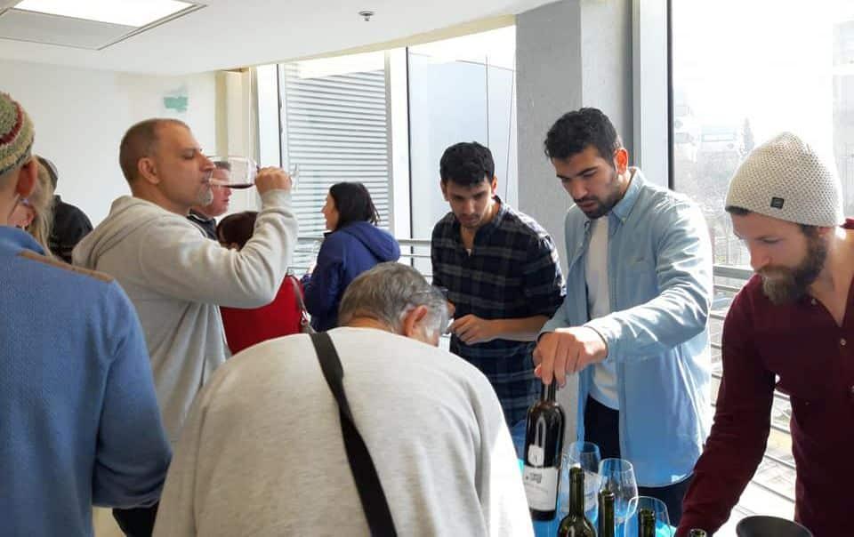 כנס היין באריאל. צילום ניר חן