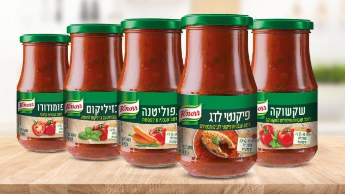 """השפים של קנור ישראל פיתחו את המוצרים במטרה להקל בבישול הביתי ולסייע לכל בשלן חובב להרחיב את התפריט בעגבניות וירקות המהווים את בסיס פירמידת התזונה הים תיכונית שמומלצת ע""""י משרד הבריאות"""