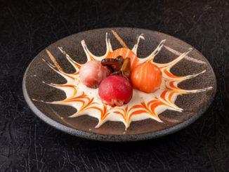 גומה סושי מורי ביאקימונו רוטשילד - כדורי סושי עטופים גריי מאלט ברוטב השף. צילום wolt ישראל