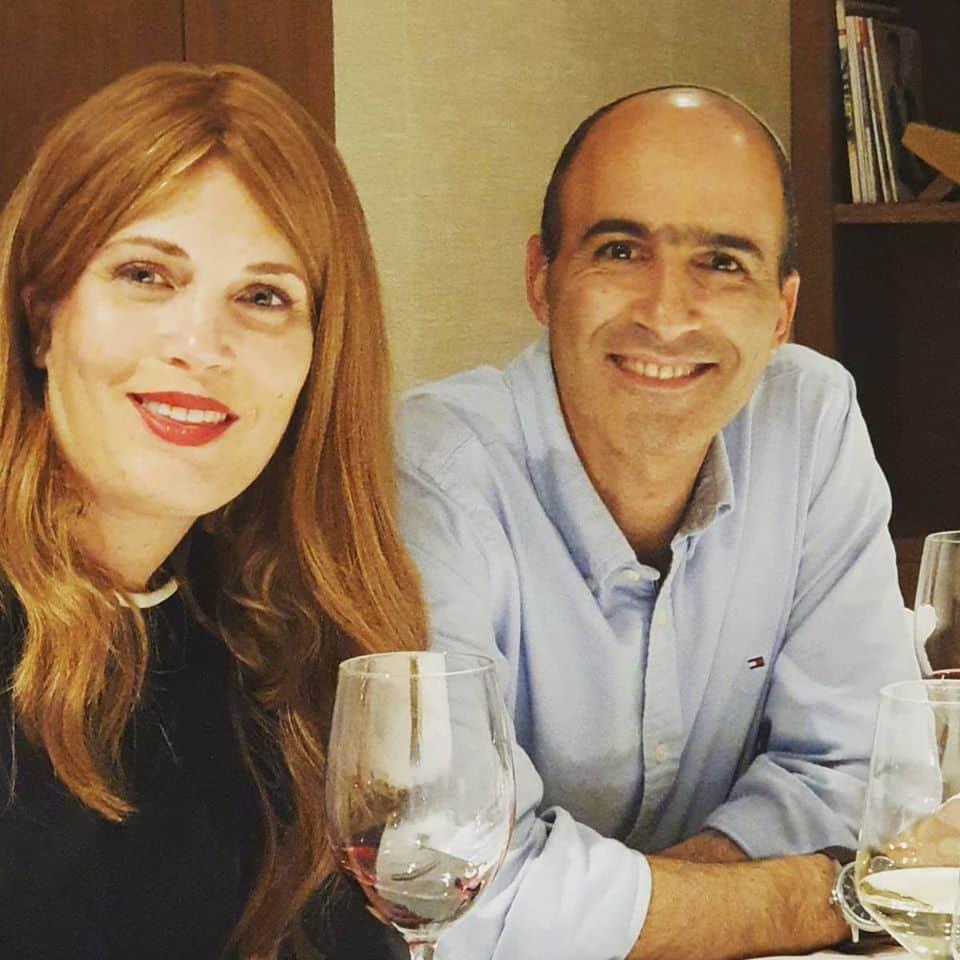ורד וארז בן סעדון מיקב טורא. צילום מדף הפייסנוק
