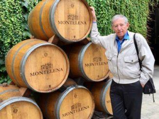 רן בירון – חובב וכותב יין, ביקר ביקב שאטו מונטלנה הקליפורני – גיבור הטעימה העיוורת מול יינות צרפת בפריז ב-1976 ומכוכבי Bottleshock - יין, סיפור אהבה. צילום אופירה בירון